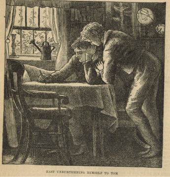 A reformed cribber: Harry East in Thomas Hughes's Tom Brown's Schooldays (1857)