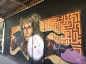 The Goblin King makes his presence felt in Hunter Street, Newcastle