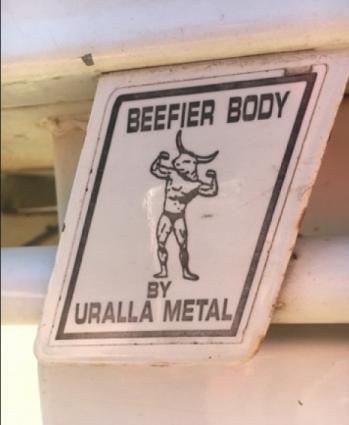 Metallic Minotaur in Uralla, NSW