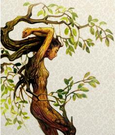 the eco friendly dryads of slavic fantasy literature antipodean