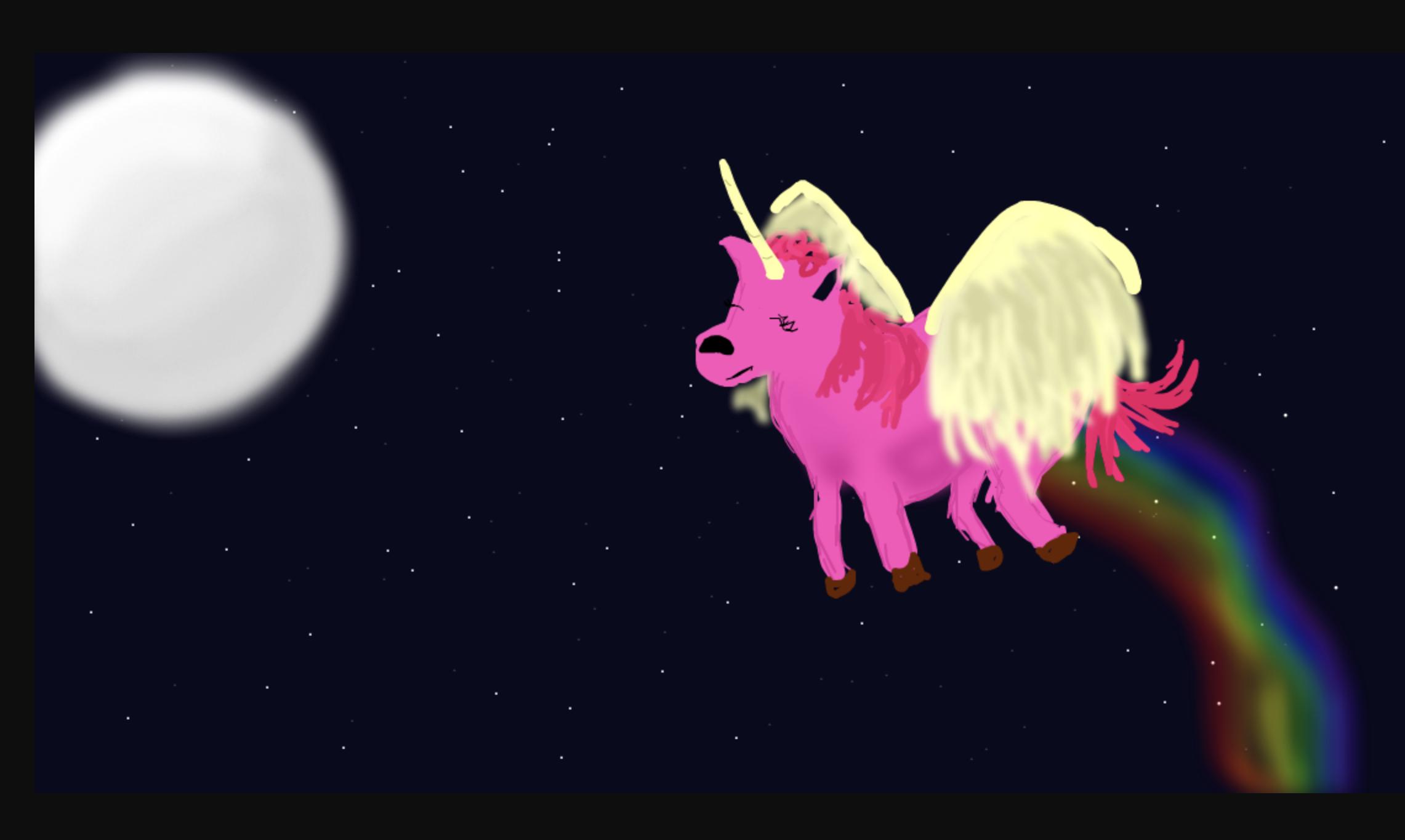 Pegasus, Unicorn, Thingy o-o, by Lizzy