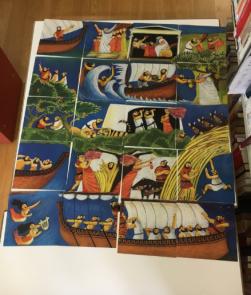 Ulises, la Maga Circe e le Sirene, by Lucia Scuderi