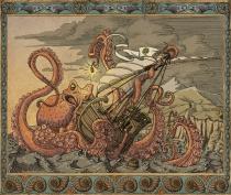 Kraken, copyright Trent Denham