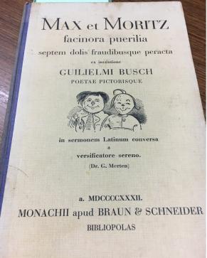 Max et Moritz, auf Latein!